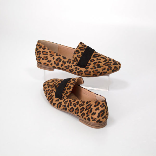 CLAIRE brown leopard