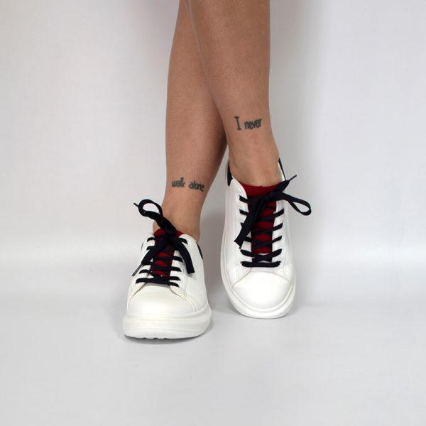 NOVA white red